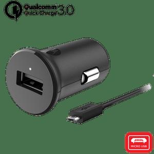 Motorola TurboPower ™ 18 Autoladegerät mit Micro-USB-Datenkabel